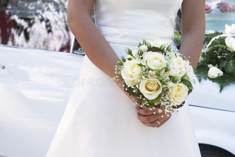Download Bride's bouquette stock image. Image of roses, bride - 28470049