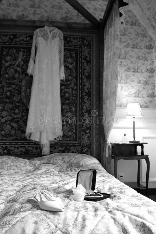 The bride's room royalty free stock images