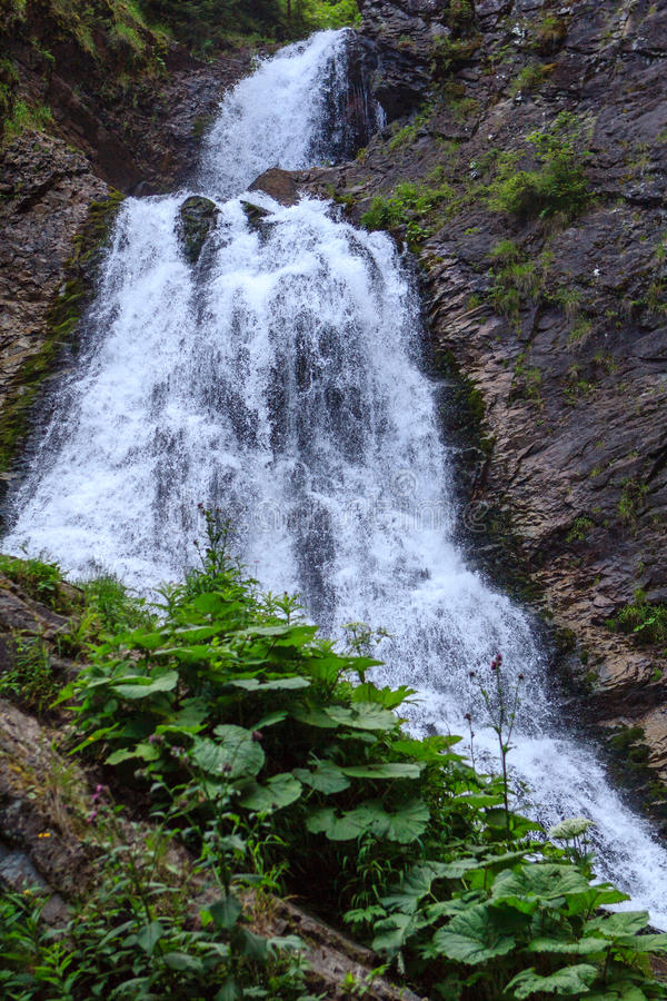 Download Bride's Veil Waterfall stock image. Image of outdoor - 43427623