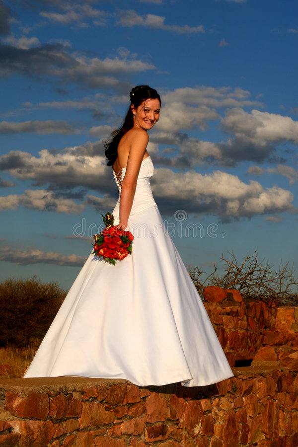 Bride Sky stock photo