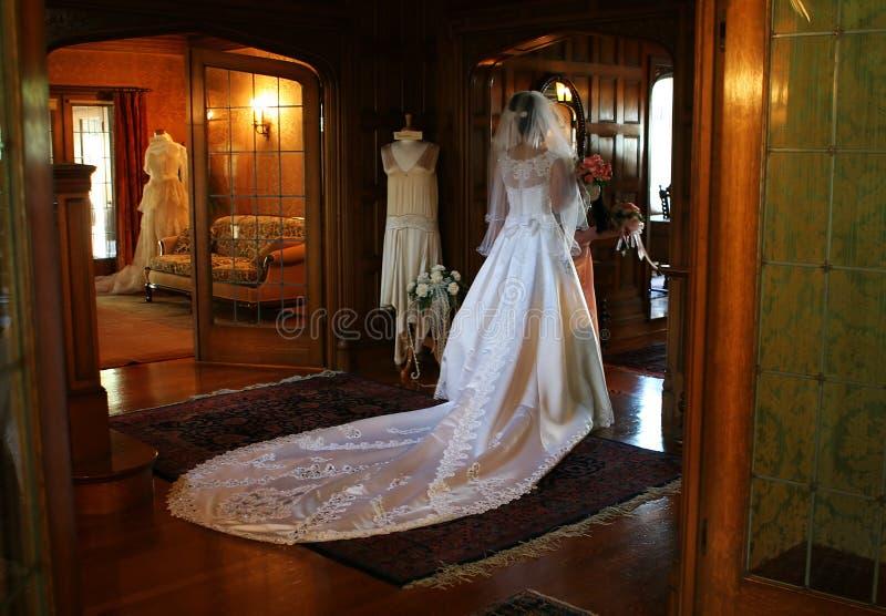 Bride (Soft Romantic Focus) stock images