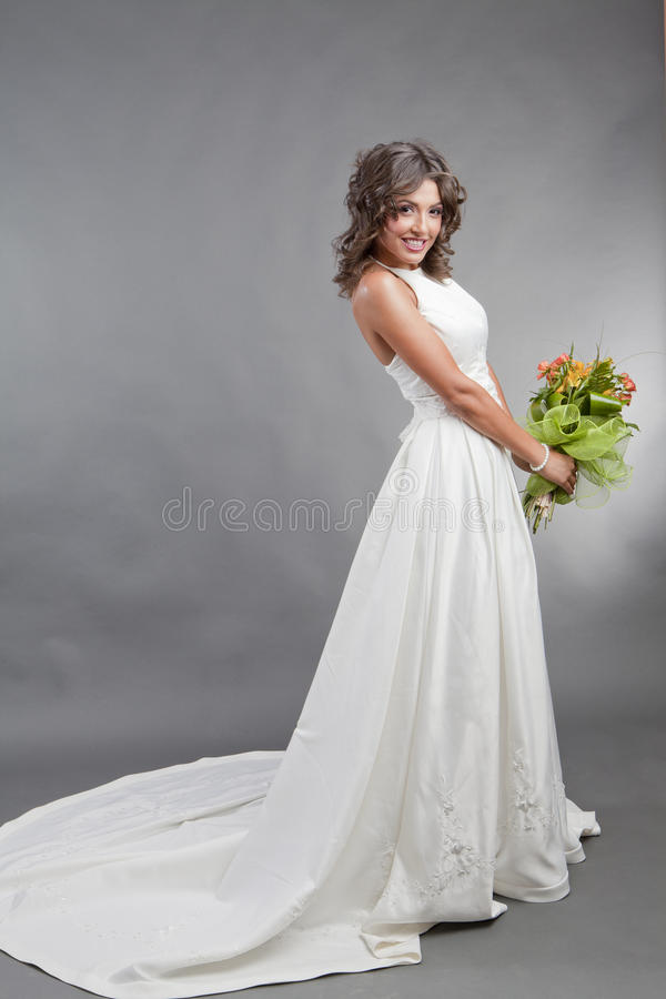 Download The Bride In Studio Portrait Stock Image - Image: 25973609