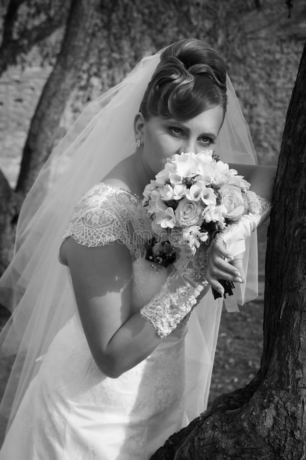 Download Bride stock image. Image of face, beauty, story, flowers - 37012399