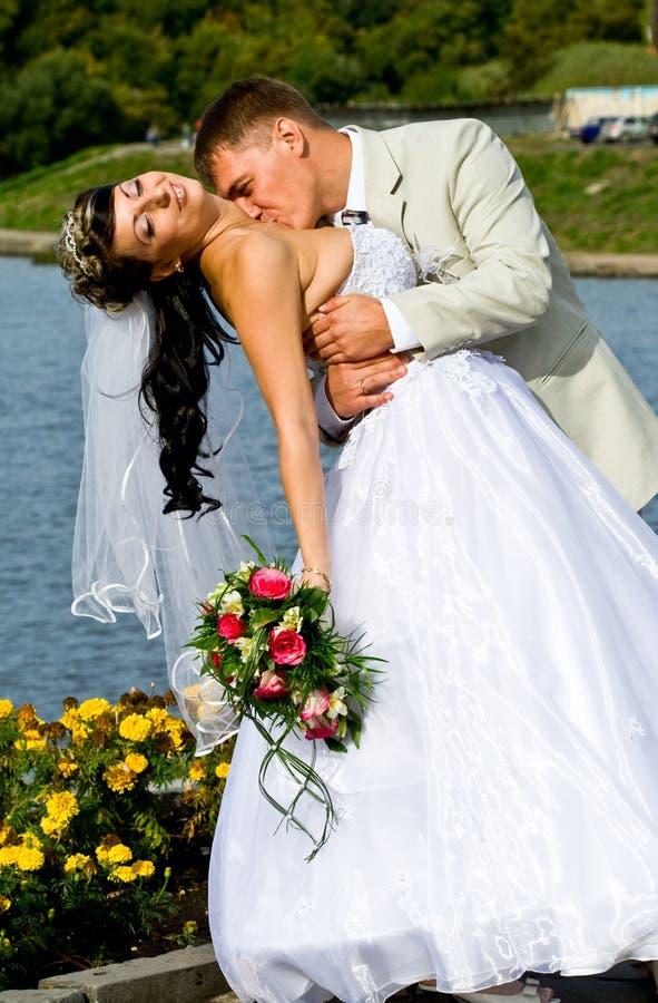 bridegroom невесты стоковая фотография rf