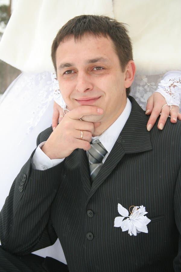 Bridegroom royalty free stock images
