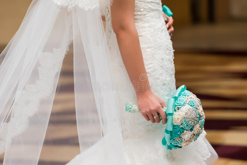 Download Brides Bouquet stock image. Image of dress, bride, expect - 36172701