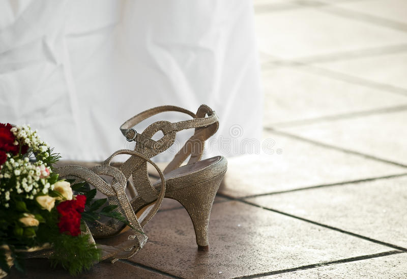 Download The Bridesmaid's Shoe Stock Images - Image: 11044084