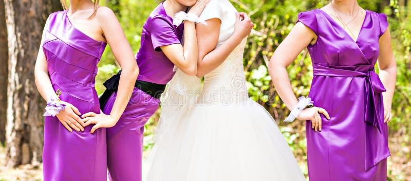 bridesmaids foto de stock royalty free