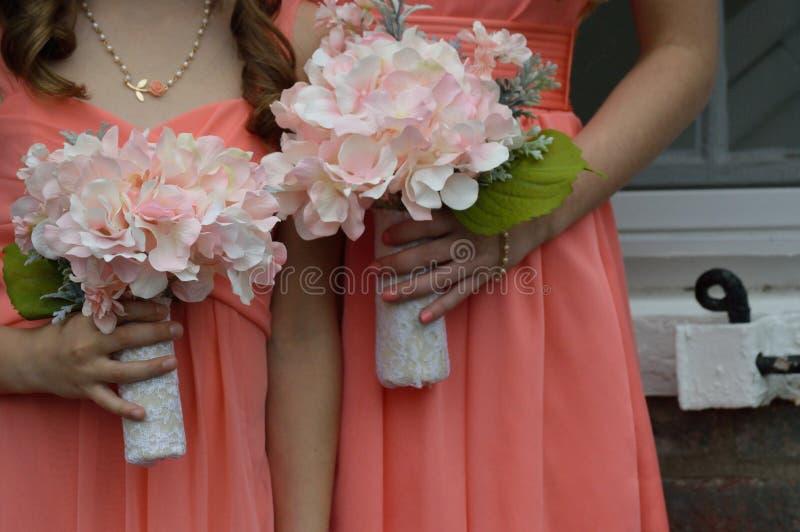 bridesmaids fotografía de archivo libre de regalías