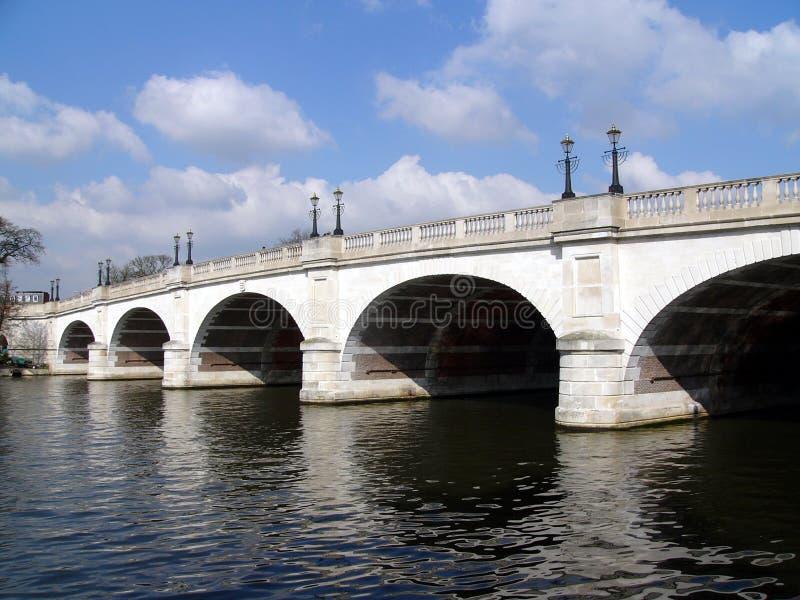 bridge öde richmond arkivbild