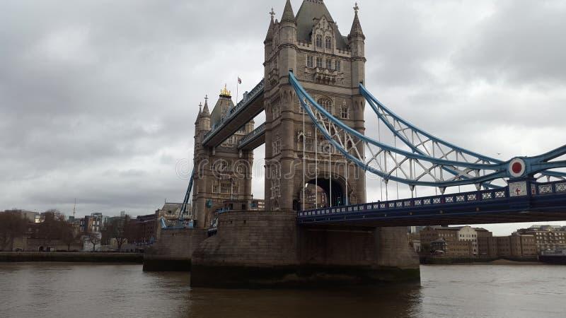 bridge1塔 图库摄影