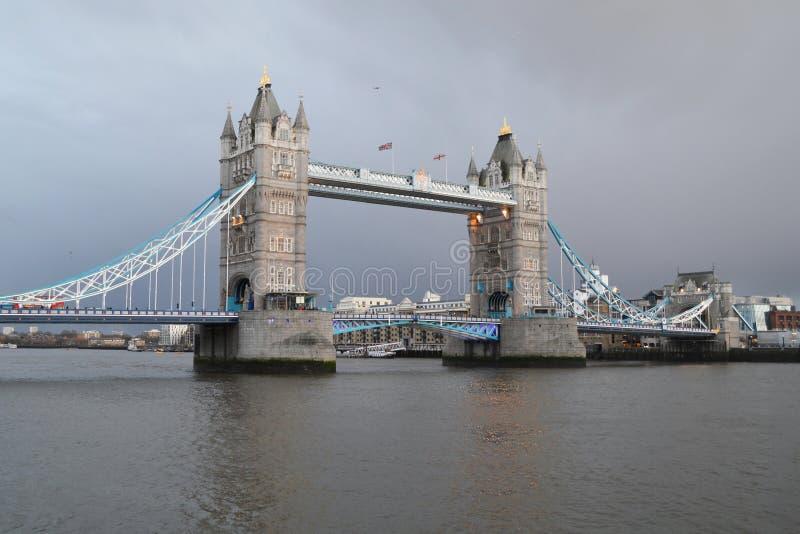 bridge1塔 免版税库存照片