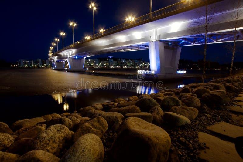 Download Bridge stock image. Image of reflection, city, jyvaskyla - 10999973