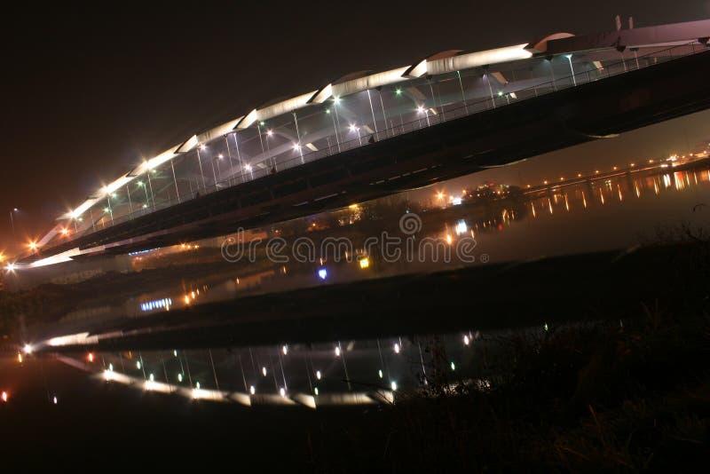 Download Bridge stock image. Image of metropoly, light, poland - 1613029