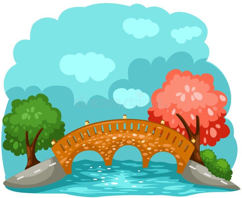 Download Bridge stock vector. Image of light, ocean, outdoor, bank - 16756451