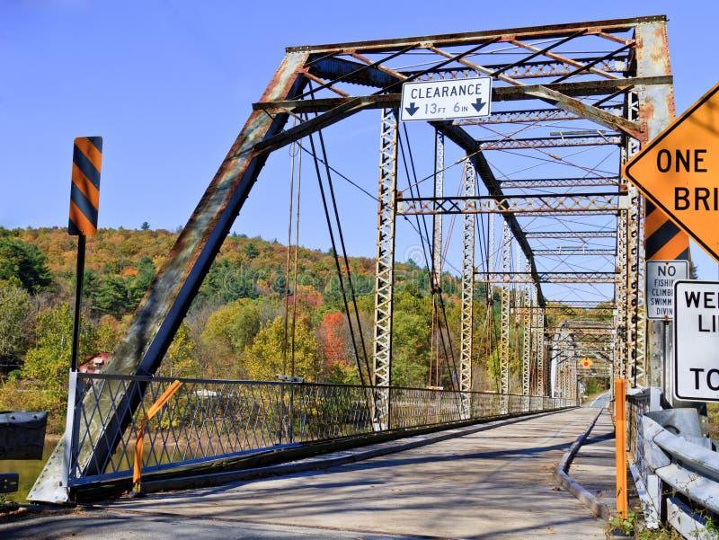Download Bridge stock photo. Image of foliage, boundary, metal - 16871612