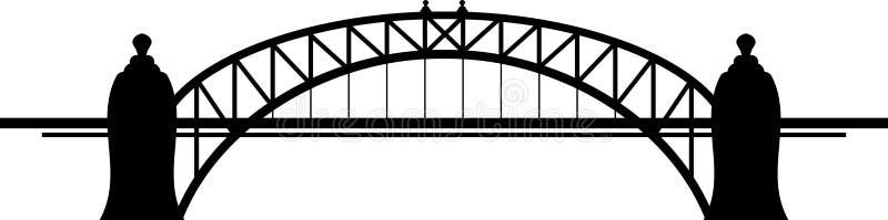 Download Bridge stock vector. Illustration of contemplation, body - 28578540