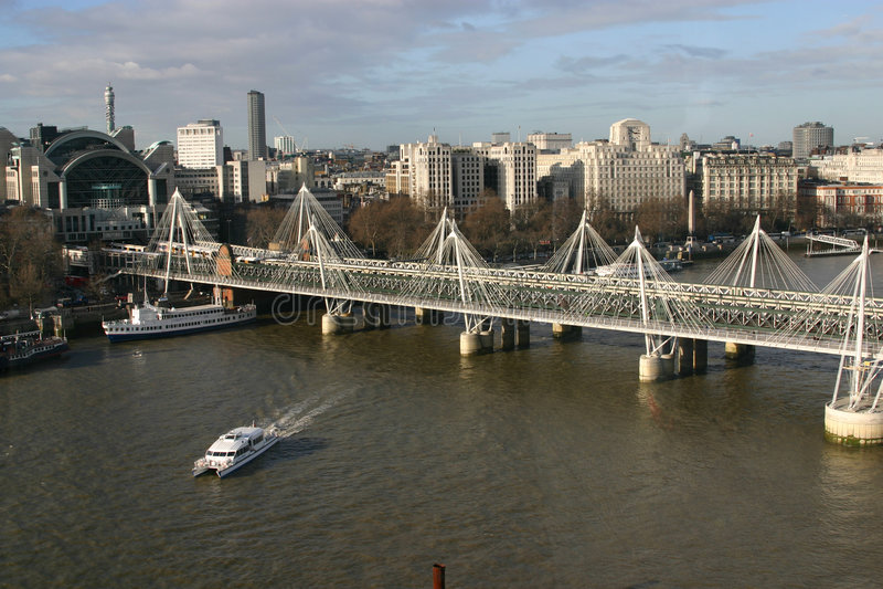 Download Bridge stock image. Image of thames, boat, tourism, london - 511631
