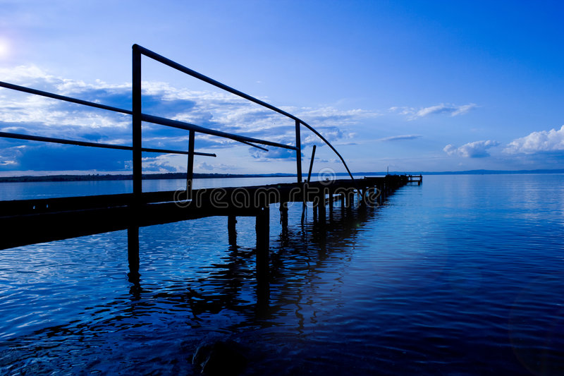 Download Bridge stock image. Image of early, ocean, coast, holiday - 5143173