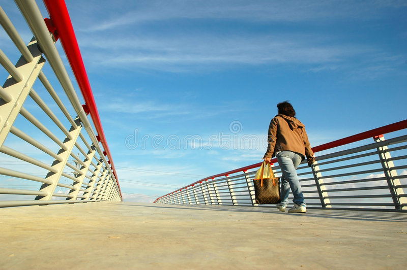 Download On The Bridge Stock Photography - Image: 518592