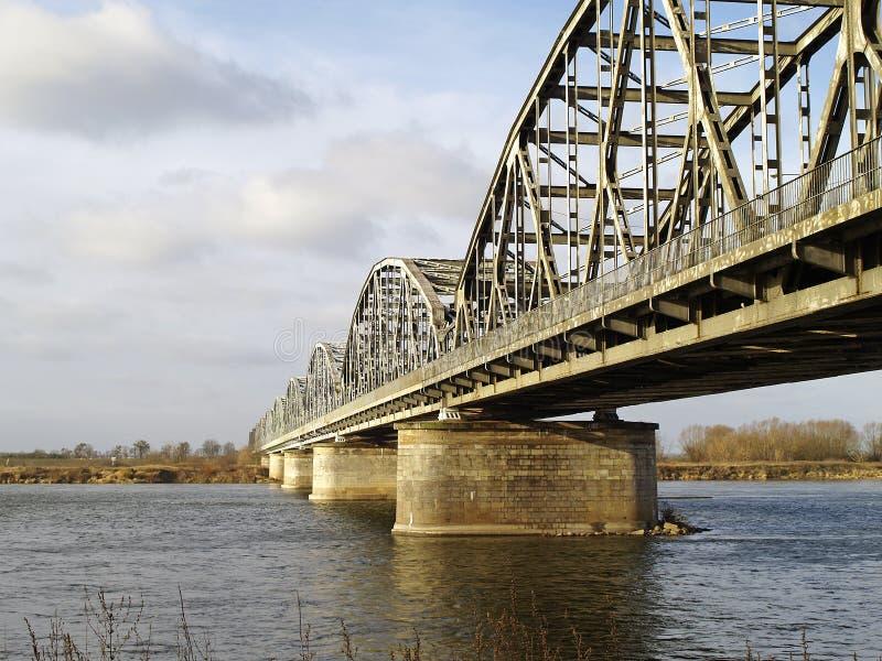 Download Bridge Across The River Vistula Stock Photo - Image: 28472126