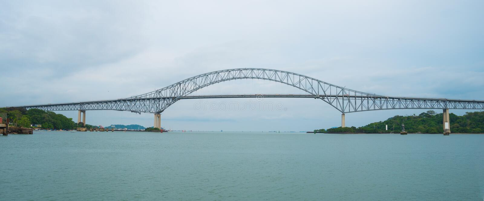 Bridge of the Americas Puente de las Americas . Bridge of the Americas Puente de las Americas. Built in 1957 and Once known as Thatcher Ferry Bridge, is a road stock images