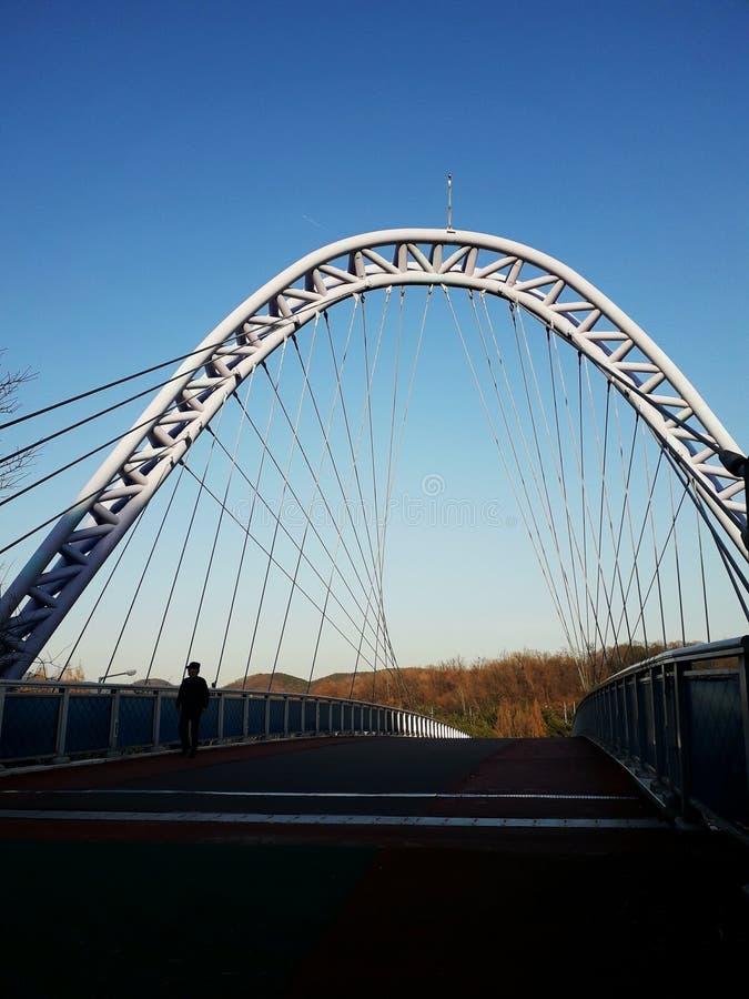 BRIDGE , ANSAN CITY , SOUTH KOREA royalty free stock photo