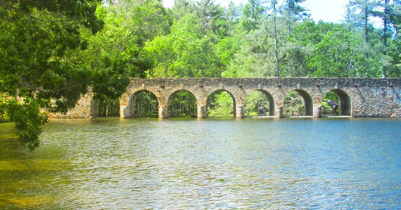 Bridge with Arches royalty free stock image