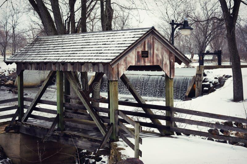Bridge Beckman Mill stock photos