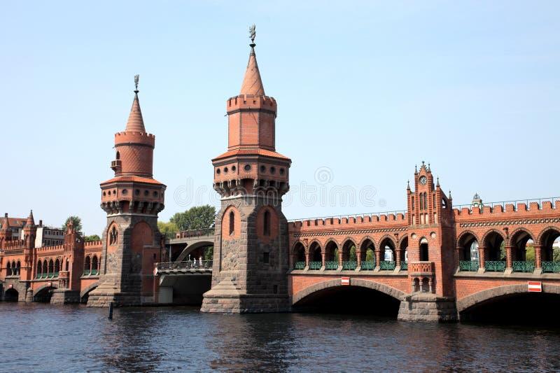 Bridge in Berlin royalty free stock photo