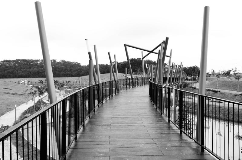 Download Bridge In Black And White Royalty Free Stock Photo - Image: 22636075