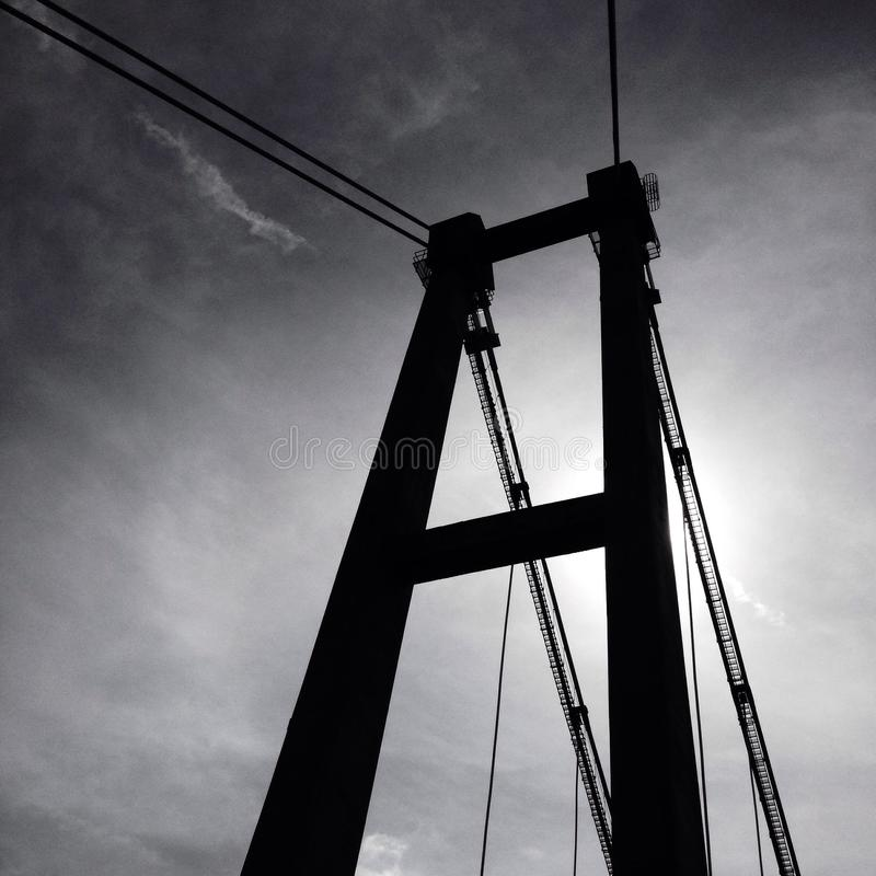 The bridge royalty free stock photos