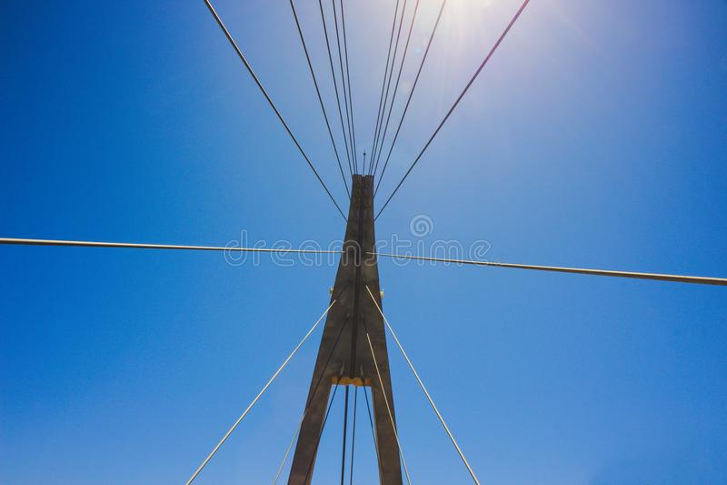 Bridge. Bridge over the river ¨Fuengirola¨ in Fuengirola stock images