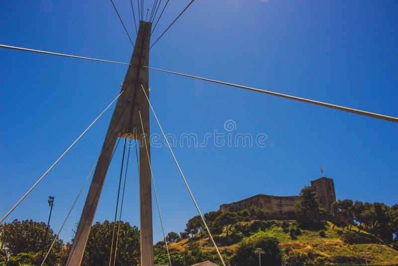 Bridge. Bridge over the river ¨Fuengirola¨ in Fuengirola royalty free stock photography