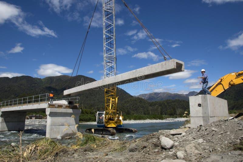 Bridge builders royalty free stock photography