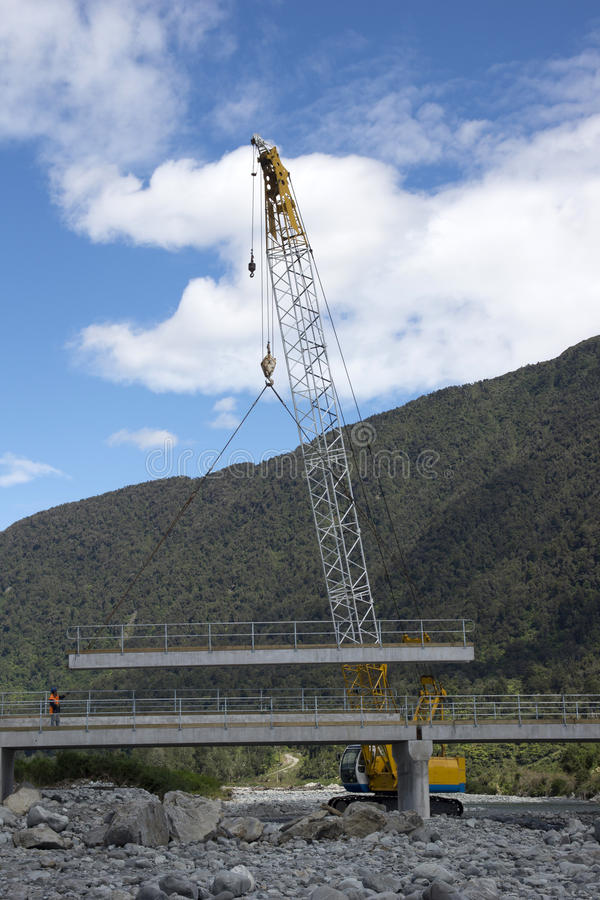 Bridge builders stock photography