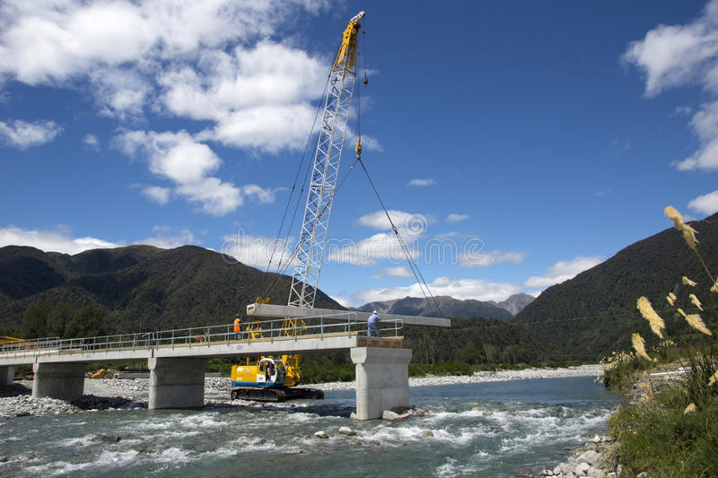 Bridge builders stock images