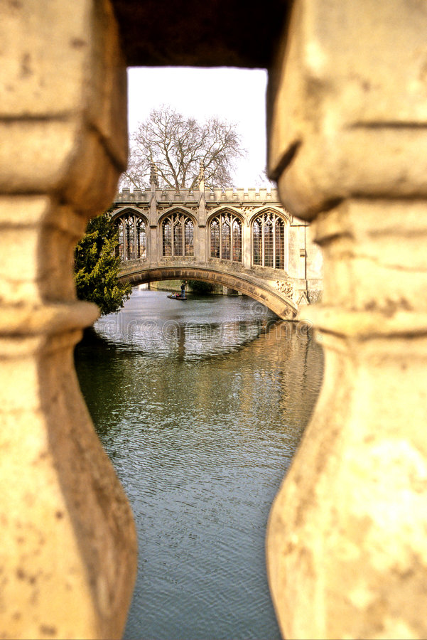 Download Bridge- Cambridge stock photo. Image of hobbies, boating - 753728