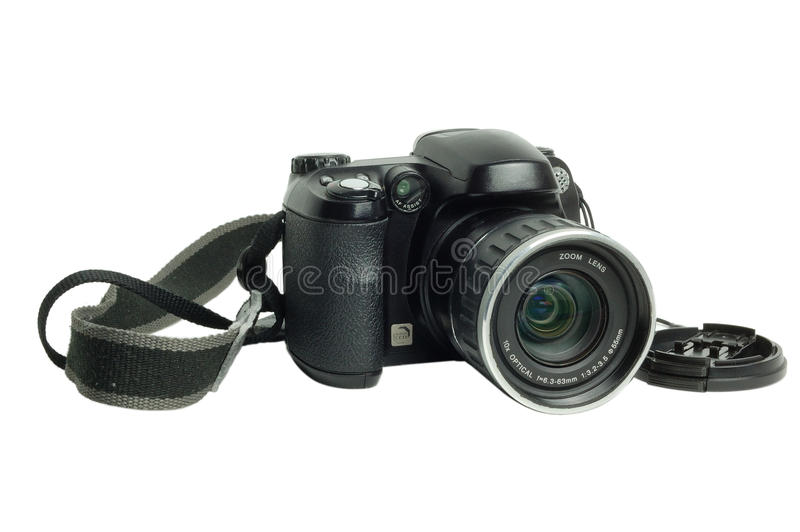 modern digital camera isolated royalty free stock photos