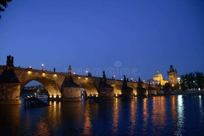 bridge charles arkivfoto