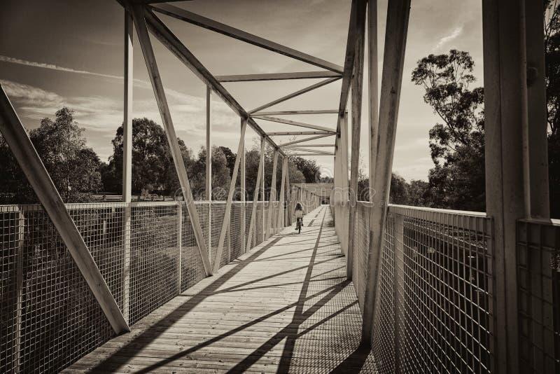 Download Bridge stock image. Image of bridge, shadows, bicycle - 30516653