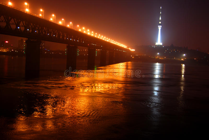 The bridge royalty free stock photo