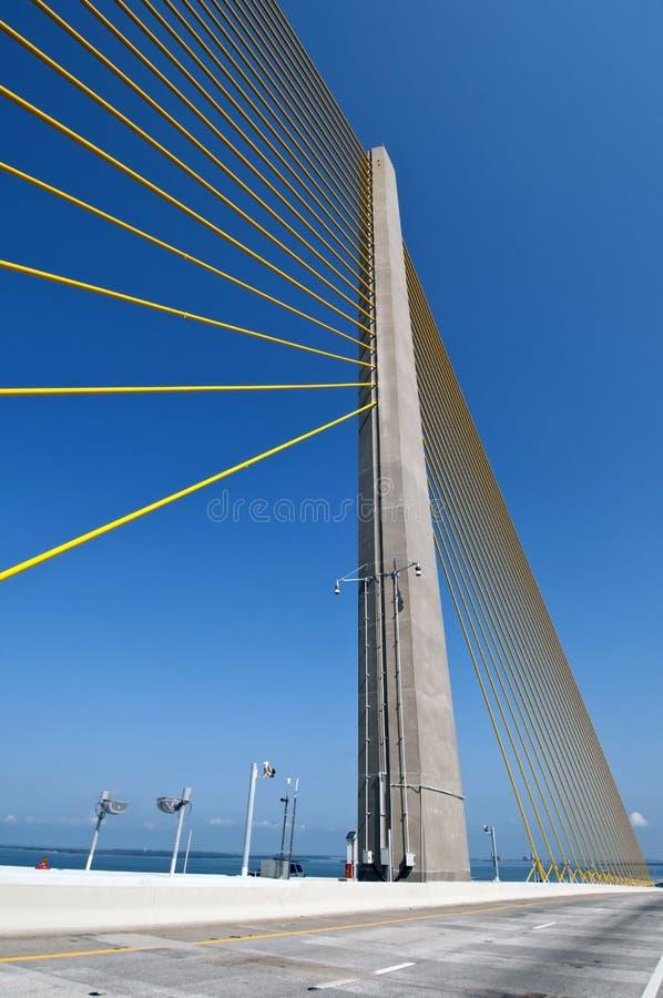 Bridge column stock photo