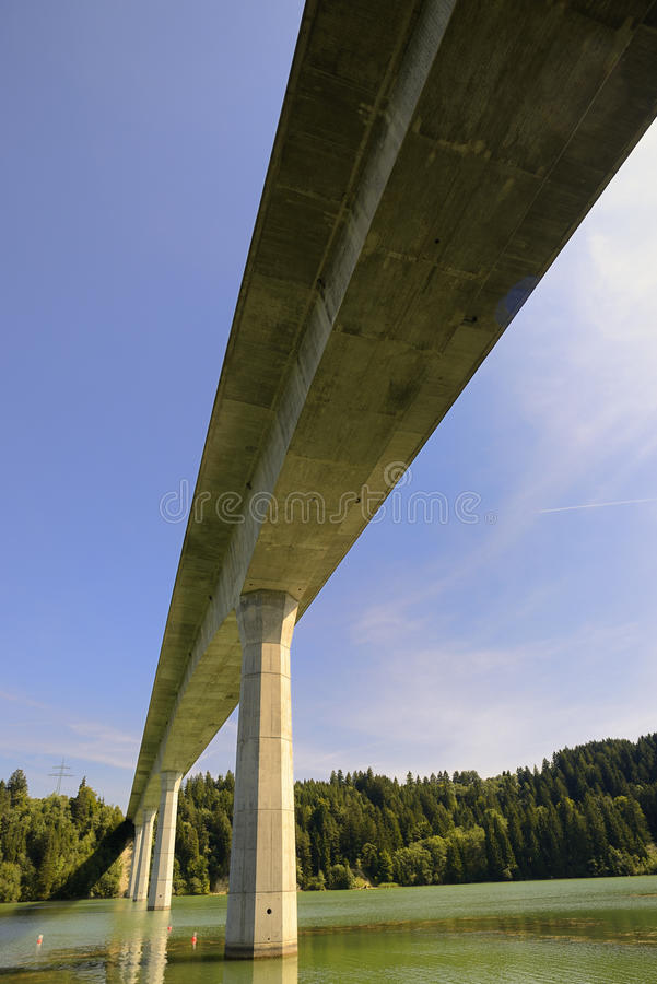 Download Bridge Construction stock image. Image of nature, blue - 28355193