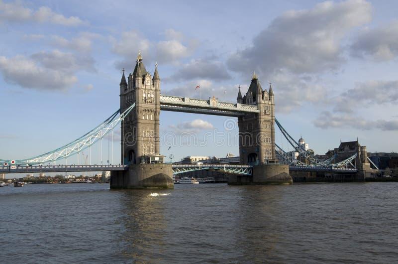 bridge det london tornet royaltyfria bilder