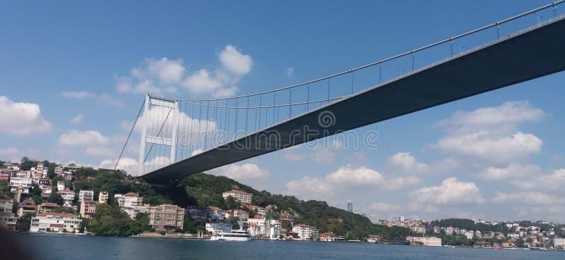 bridge fatih mehmet sultan στοκ εικόνες