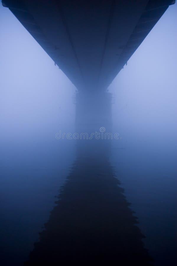 Bridge In The Fog Stock Photography