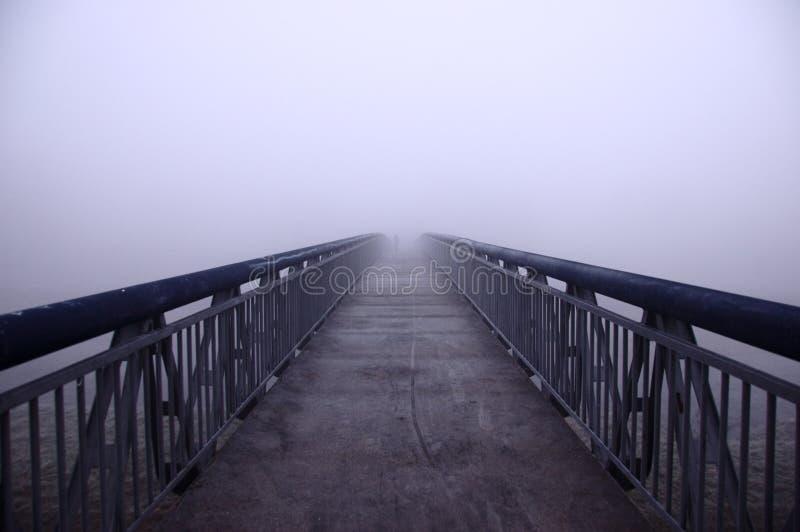 Download Bridge in fog stock image. Image of bridge, destination - 7173993