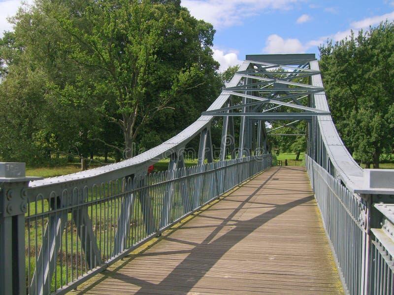 bridge foten arkivfoton