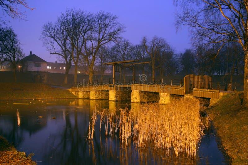 bridge gammalt royaltyfri foto